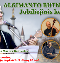 Algimanto Butnoriaus jubiliejinis koncertas