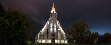New Akmenė St. Church of the Transfiguration of the Spirit
