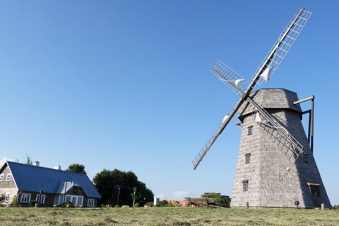 ŽALIŪKIAI VILLAGE MILLER'S FARMSTEAD-MUSEUM
