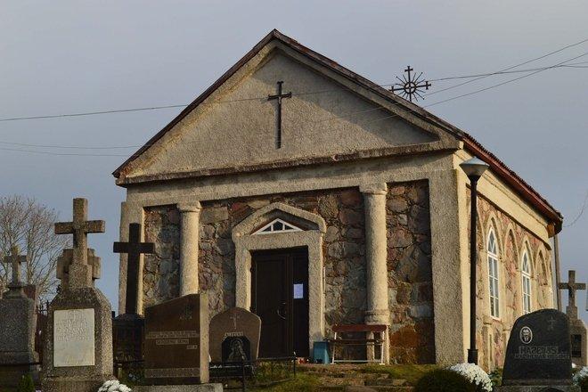 Kražių kapinių koplyčia
