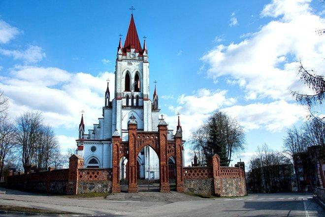 CHURCH OF ST JOHN THE BAPTIST IN KURŠĖNAI