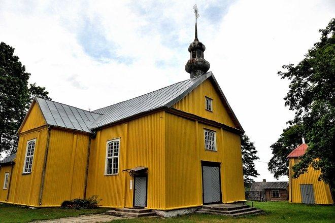 Pašilės Šv. Jurgio bažnyčia