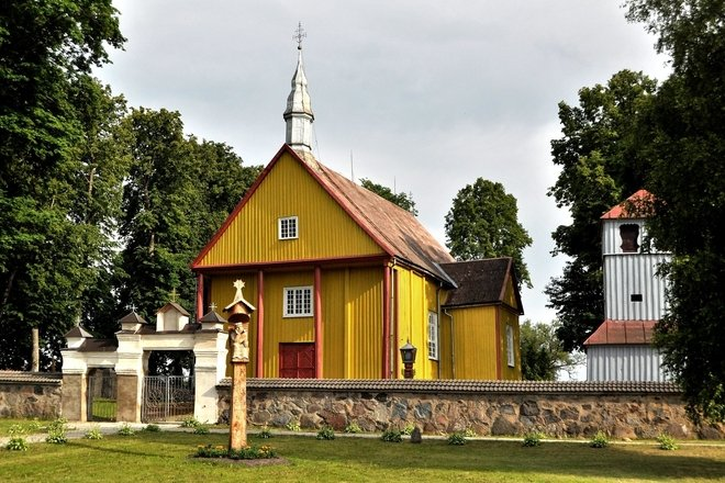 Karklėnų Šv. Baltramiejaus bažnyčia