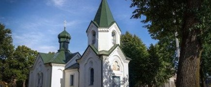 """CHURCH OF THE TYTUVENAI GOD MOTHER ICON """"KAZANSKA"""""""