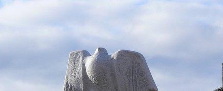 MONUMENT FOR THE PRISIKĖLIMAS DISTRICT PARTISANS IN ŠEDUVA
