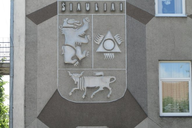 THE COAT OF ARMS OF ŠIAULIAI CITY